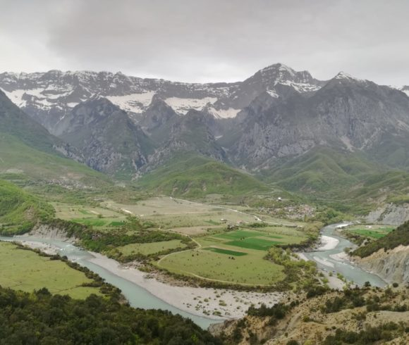Investigating morphological quality and dynamics of the Vjosa River in Albania